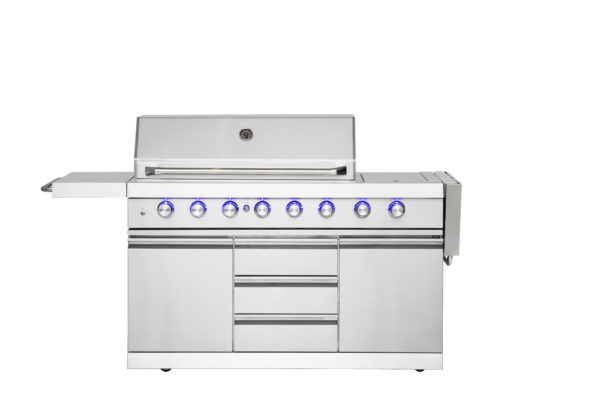 Mustang Gas Grill Ruby zijtafel links