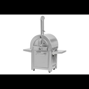 Mustang pizza oven Giovanni RVS