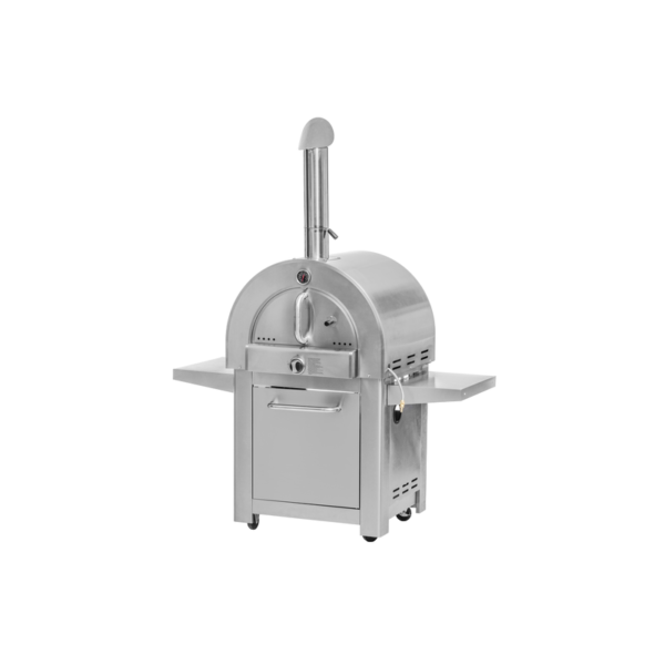 Mustang pizza oven Giovanni RVS