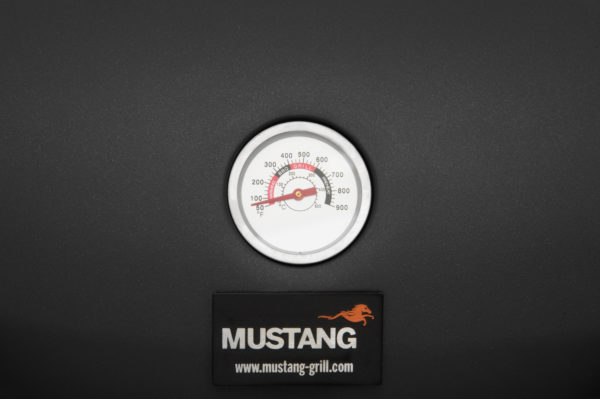 Mustang gas grill Hobby thermometer