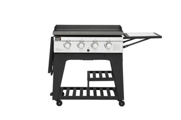 Mustang gas grill bakplaat Gridiron zijtafel rechts