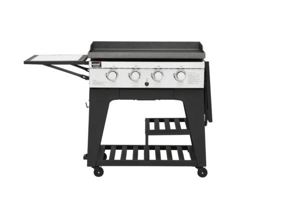 Mustang gas grill bakplaat Gridiron zijtafel links