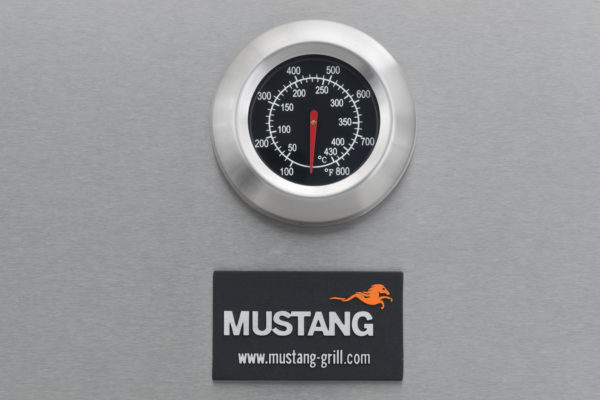 Mustang gas grill Opal thermometer