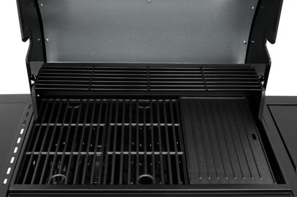 Mustang gas grill Pullman zwart complete grillruimte