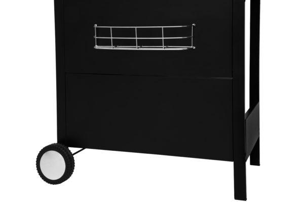 Mustang gas grill Pullman zwart gereedschapsrekje