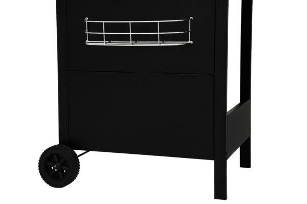 Mustang gas grill Oriental zwart gereedschapsrekje