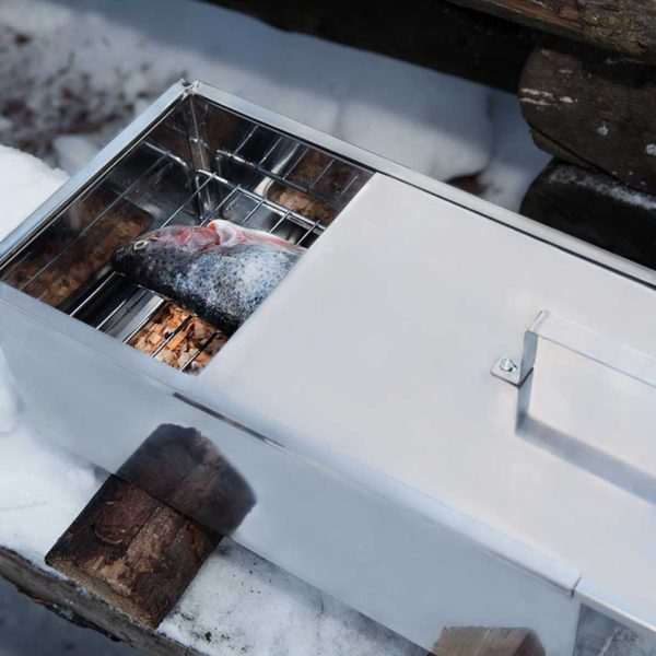 voorbereide mustang rookbox met schuifdeksel