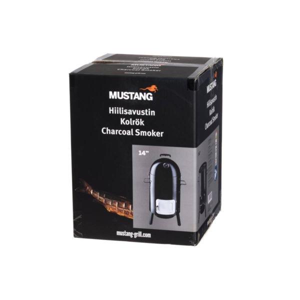 Verpakking Mustang zwarte rookton