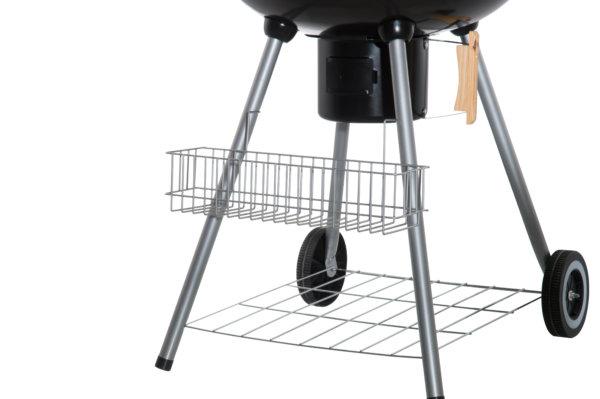 Mustang kogel / houtskool grill 54 cm tool rek