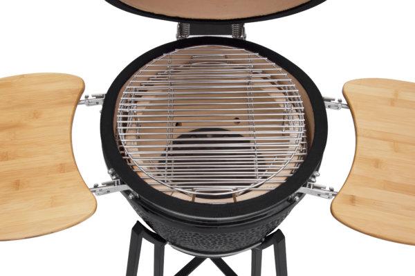 mustang 18 inch kamado houtskool grill roosters