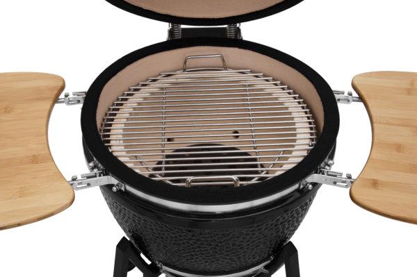 mustang 18 inch kamado houtskool grill rooster