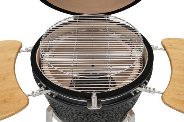 mustang 22 inch kamado houtskool grill roosters