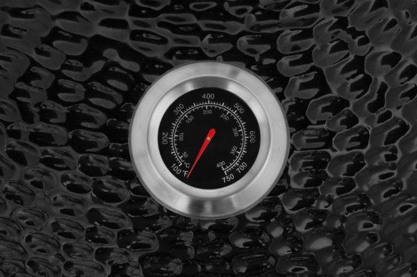 mustang 22 inch kamado houtskool grill thermometer