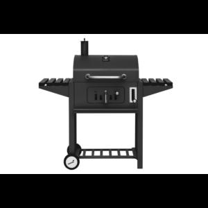Mustang houtskool grill Tango zwart vooraanzicht