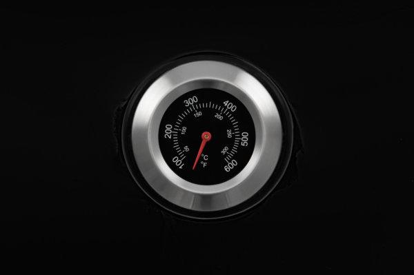 mustang houtskool kogel grill phoenix thermometer