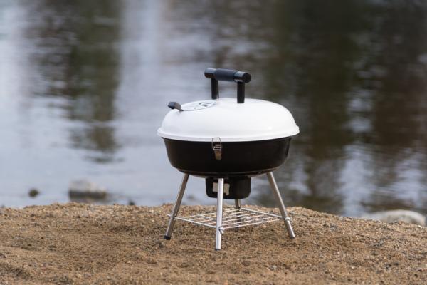 Mustang houtskool grill Festival wit