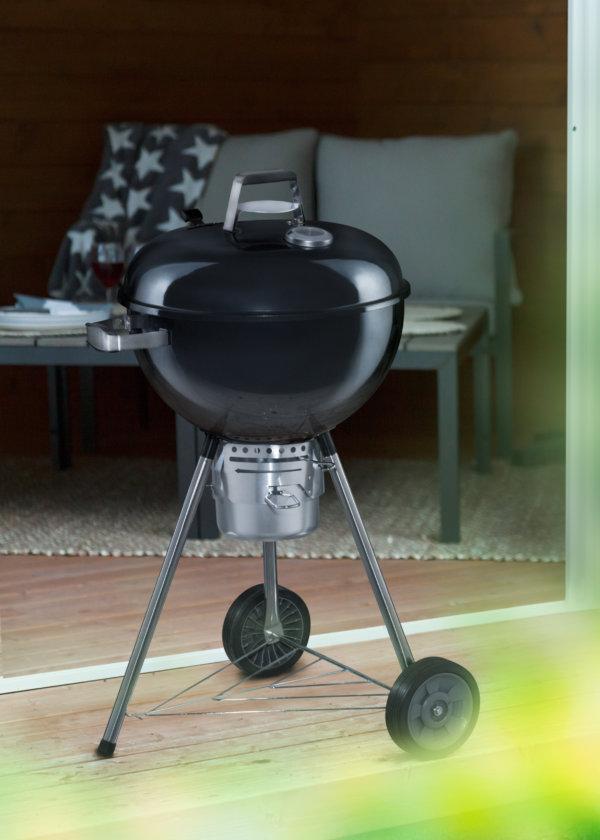 Mustang houtskool grill Cobolt kogel bbq