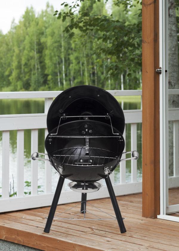 Mustang compacte houtskool grill Mecano
