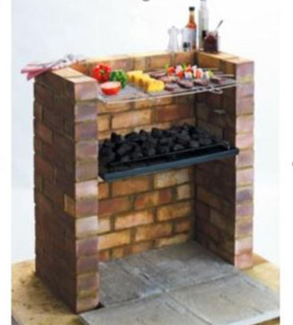 ingebouwde mustang inbouw grill set