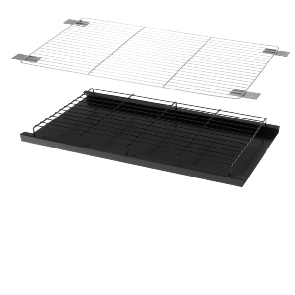 mustang inbouw grill set