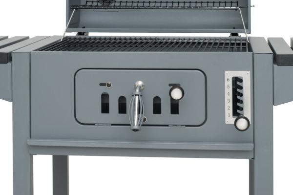 bedieningspaneel houtskool barbecue mustang tango