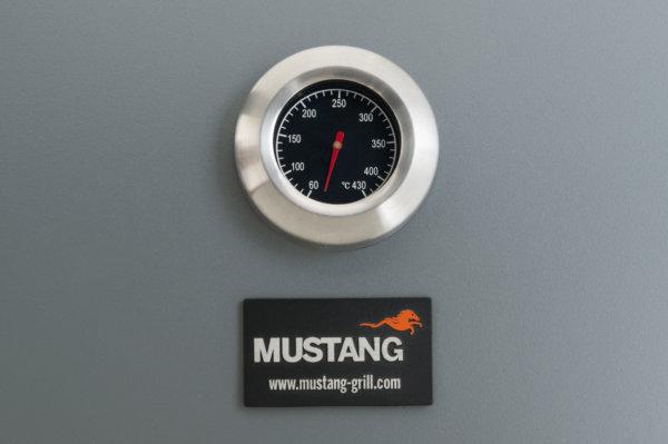 mustang tango houtskool grill thermometer