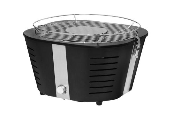 rookloze barbecue zwart