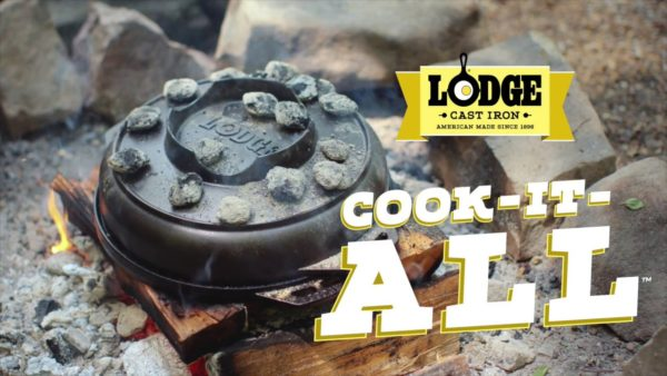 lodge cook it all gietijzer