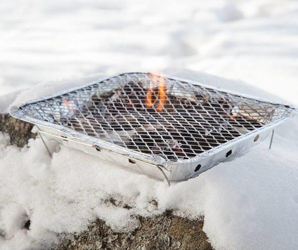 mustang wegwerp bbq / grill