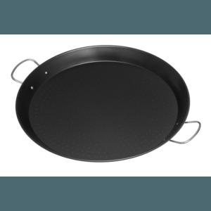 Mustang paella pan anti aanbak 46 cm zijaanzicht