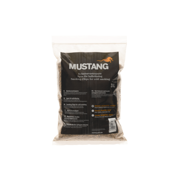 Mustang koud rook mot mesquite 3l fijn