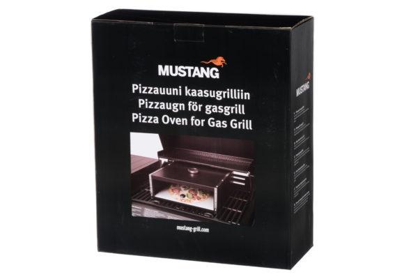 mustang bbq pizza bak oven verpakking
