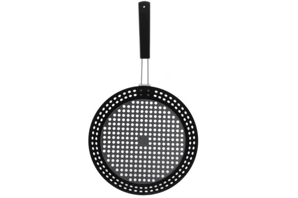bbq grill pan rond van mustang