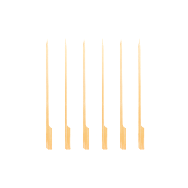 Mustang bamboe spiesen met breed handvat